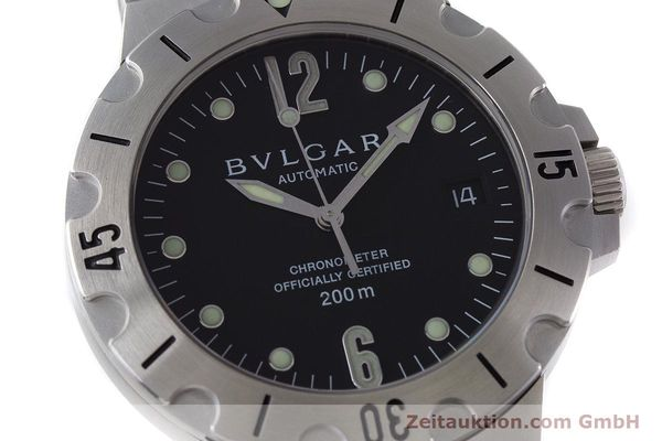 Used luxury watch Bvlgari Diagono steel automatic Kal. 220 TEEE Ref. SD38S  | 160806 02