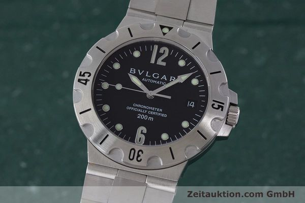Used luxury watch Bvlgari Diagono steel automatic Kal. 220 TEEE Ref. SD38S  | 160806 04
