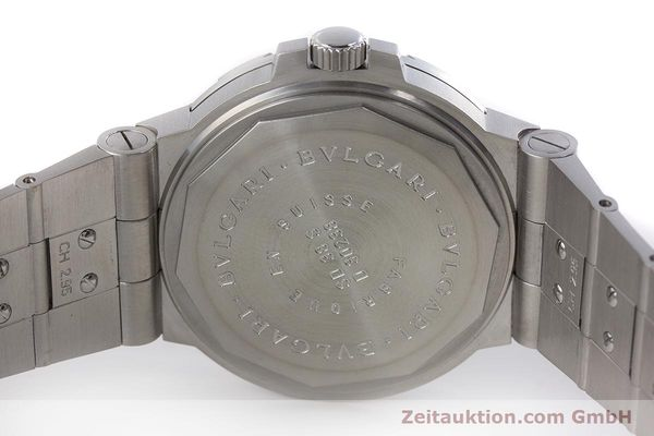 Used luxury watch Bvlgari Diagono steel automatic Kal. 220 TEEE Ref. SD38S  | 160806 08