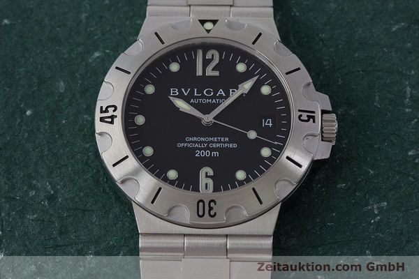 Used luxury watch Bvlgari Diagono steel automatic Kal. 220 TEEE Ref. SD38S  | 160806 17