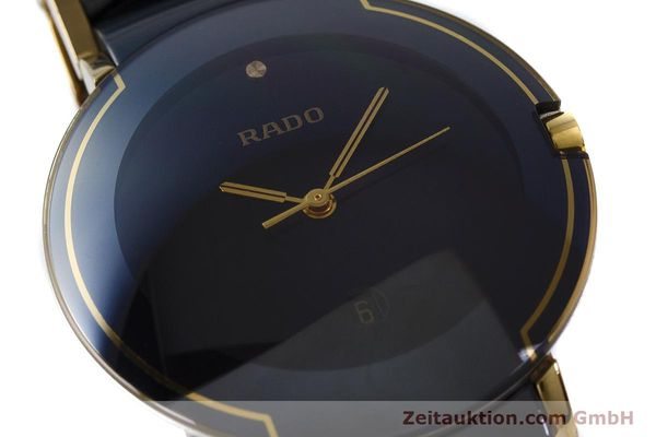 Used luxury watch Rado Diastar gilt steel quartz Kal. ETA 256.412 Ref. 129.0300.3  | 160811 02