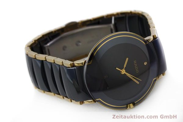 Used luxury watch Rado Diastar gilt steel quartz Kal. ETA 256.412 Ref. 129.0300.3  | 160811 03