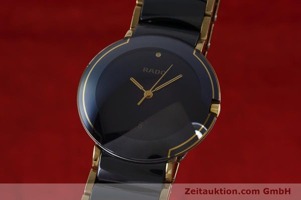 Used luxury watch Rado Diastar gilt steel quartz Kal. ETA 256.412 Ref. 129.0300.3  | 160811 04