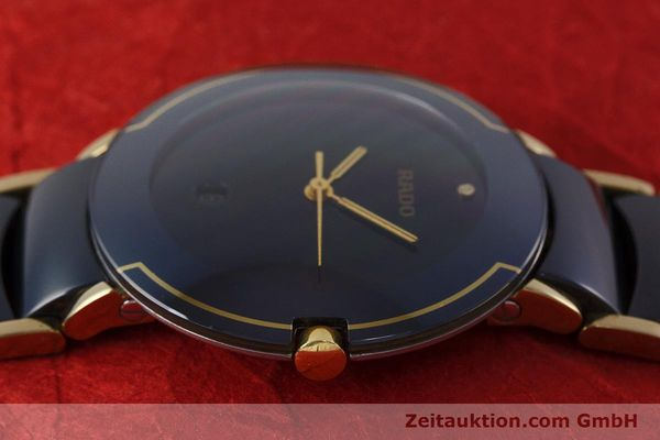Used luxury watch Rado Diastar gilt steel quartz Kal. ETA 256.412 Ref. 129.0300.3  | 160811 05