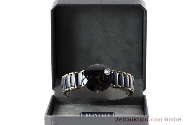 Used luxury watch Rado Diastar gilt steel quartz Kal. ETA 256.412 Ref. 129.0300.3  | 160811 07
