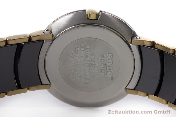 Used luxury watch Rado Diastar gilt steel quartz Kal. ETA 256.412 Ref. 129.0300.3  | 160811 09
