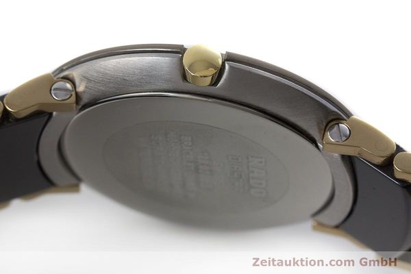 Used luxury watch Rado Diastar gilt steel quartz Kal. ETA 256.412 Ref. 129.0300.3  | 160811 10