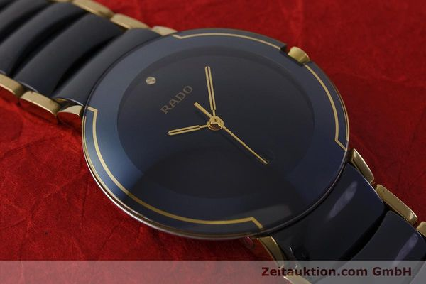 Used luxury watch Rado Diastar gilt steel quartz Kal. ETA 256.412 Ref. 129.0300.3  | 160811 13
