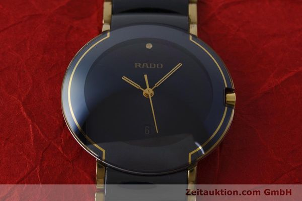 Used luxury watch Rado Diastar gilt steel quartz Kal. ETA 256.412 Ref. 129.0300.3  | 160811 14
