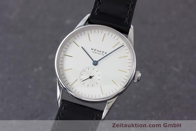 NOMOS ORION STEEL MANUAL WINDING KAL. ETA 7001 LP: 1520EUR [160816]