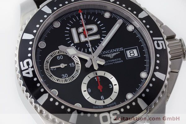 Used luxury watch Longines Hydro Conquest chronograph steel automatic Kal. L674.2 ETA 7750 Ref. L3.644.4  | 160817 02