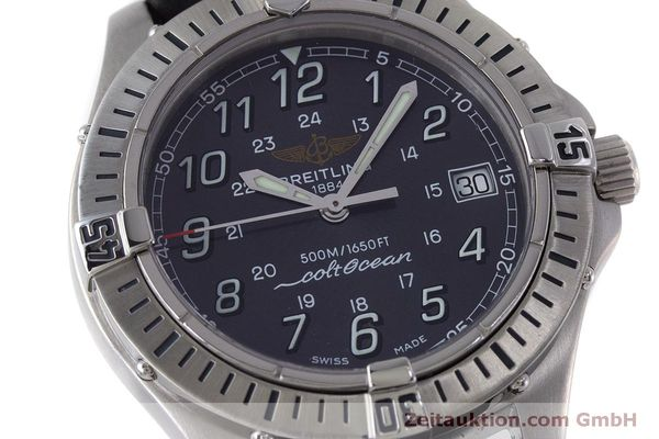 Used luxury watch Breitling Colt steel quartz Kal. B64  Ref. A64350  | 160819 02