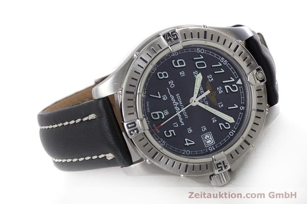 Used luxury watch Breitling Colt steel quartz Kal. B64  Ref. A64350  | 160819 03