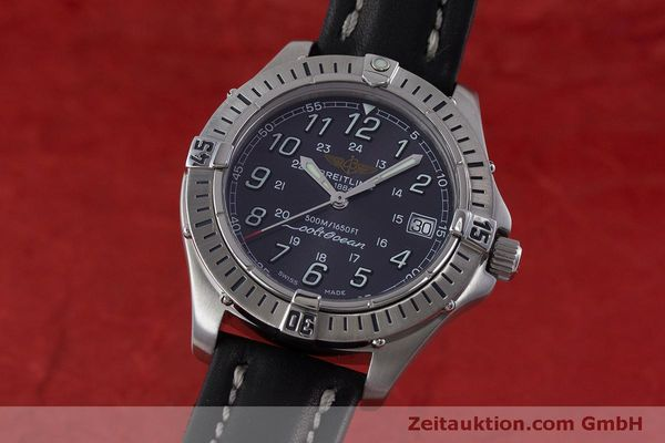 Used luxury watch Breitling Colt steel quartz Kal. B64  Ref. A64350  | 160819 04