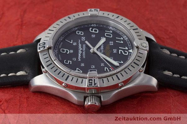 Used luxury watch Breitling Colt steel quartz Kal. B64  Ref. A64350  | 160819 05