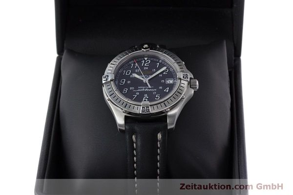 Used luxury watch Breitling Colt steel quartz Kal. B64  Ref. A64350  | 160819 07