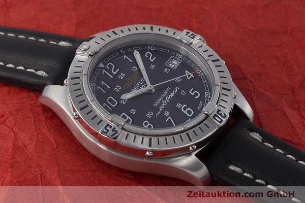 Used luxury watch Breitling Colt steel quartz Kal. B64  Ref. A64350  | 160819 15