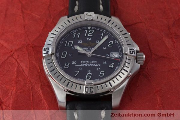 Used luxury watch Breitling Colt steel quartz Kal. B64  Ref. A64350  | 160819 16
