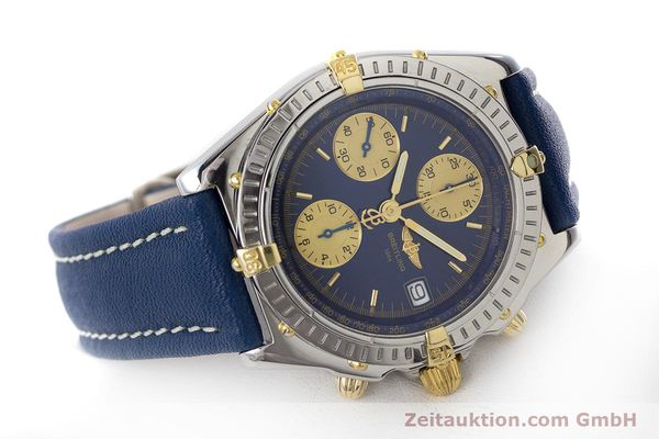 Used luxury watch Breitling Chronomat chronograph steel / gold automatic Kal. B13 ETA 7750 Ref. B13050.1  | 160820 03