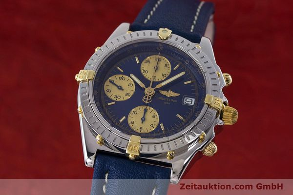 Used luxury watch Breitling Chronomat chronograph steel / gold automatic Kal. B13 ETA 7750 Ref. B13050.1  | 160820 04
