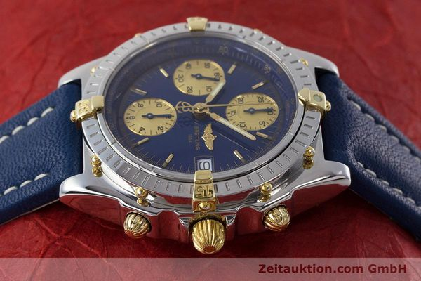 Used luxury watch Breitling Chronomat chronograph steel / gold automatic Kal. B13 ETA 7750 Ref. B13050.1  | 160820 05