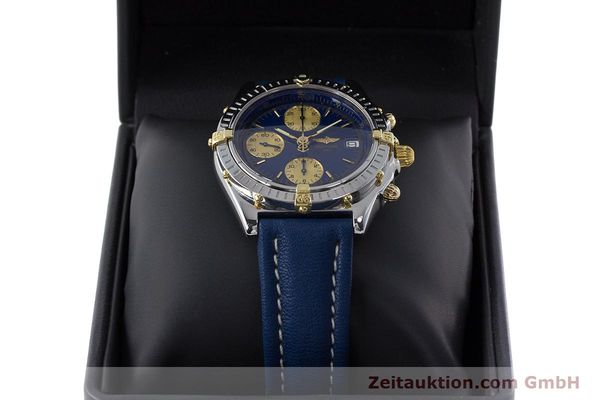 Used luxury watch Breitling Chronomat chronograph steel / gold automatic Kal. B13 ETA 7750 Ref. B13050.1  | 160820 07
