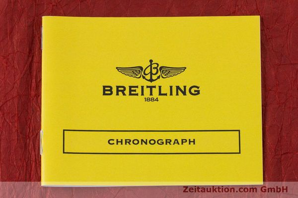 Used luxury watch Breitling Chronomat chronograph steel / gold automatic Kal. B13 ETA 7750 Ref. B13050.1  | 160820 12