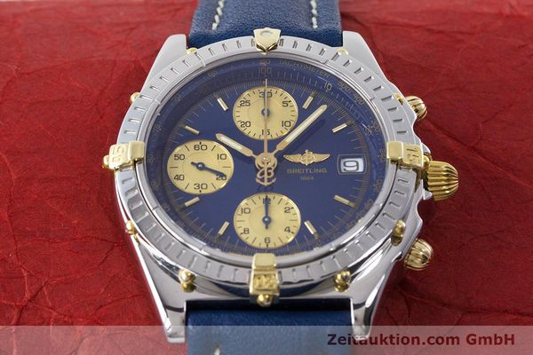 Used luxury watch Breitling Chronomat chronograph steel / gold automatic Kal. B13 ETA 7750 Ref. B13050.1  | 160820 16