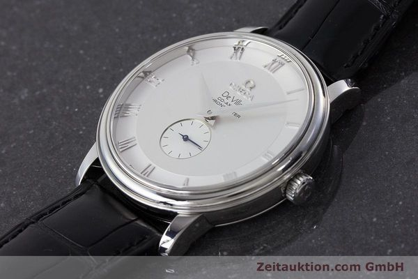 Used luxury watch Omega De Ville steel automatic Kal. 2202A  | 160823 01