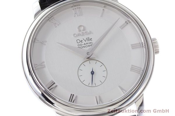 Used luxury watch Omega De Ville steel automatic Kal. 2202A  | 160823 02