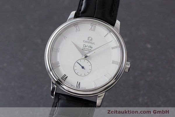 Used luxury watch Omega De Ville steel automatic Kal. 2202A  | 160823 04