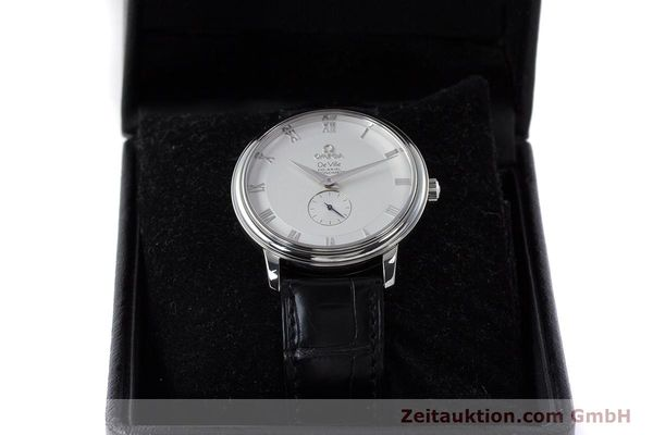 Used luxury watch Omega De Ville steel automatic Kal. 2202A  | 160823 07