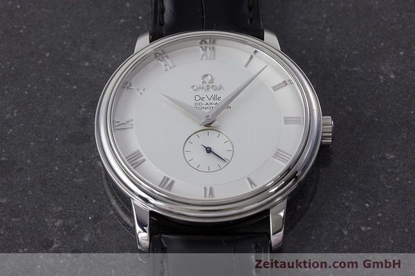 Used luxury watch Omega De Ville steel automatic Kal. 2202A  | 160823 16