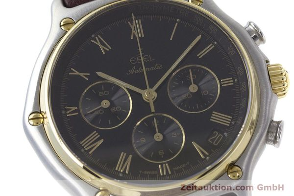 Used luxury watch Ebel 1911 chronograph steel / gold automatic Kal. 134 Ref. 1134901  | 160825 02