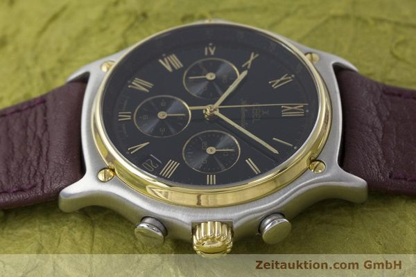 Used luxury watch Ebel 1911 chronograph steel / gold automatic Kal. 134 Ref. 1134901  | 160825 05