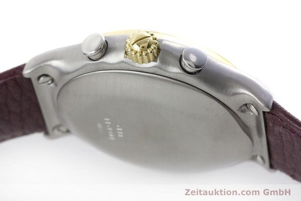 Used luxury watch Ebel 1911 chronograph steel / gold automatic Kal. 134 Ref. 1134901  | 160825 08