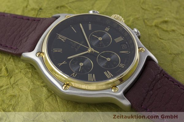 Used luxury watch Ebel 1911 chronograph steel / gold automatic Kal. 134 Ref. 1134901  | 160825 13