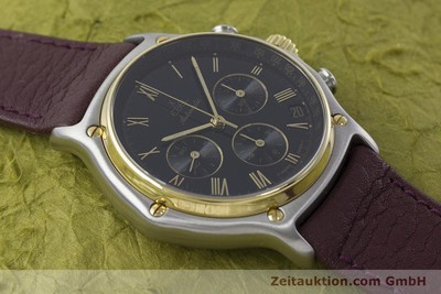 EBEL 1911 CHRONOGRAPH STEEL / GOLD AUTOMATIC KAL. 134 [160825]