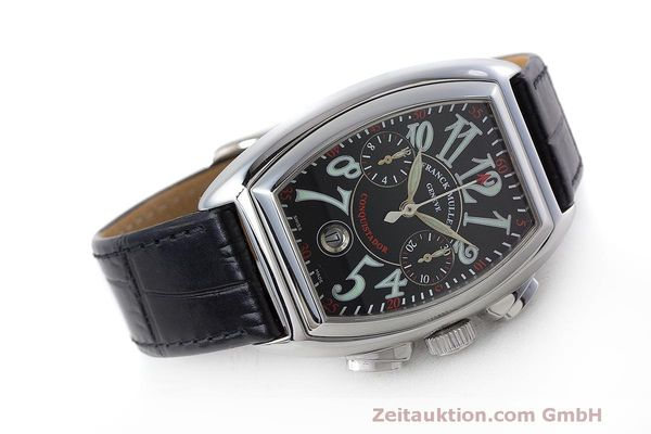 Used luxury watch Franck Muller Conquistador chronograph steel automatic Kal. 1185L02 Ref. 8001CC  | 160826 03