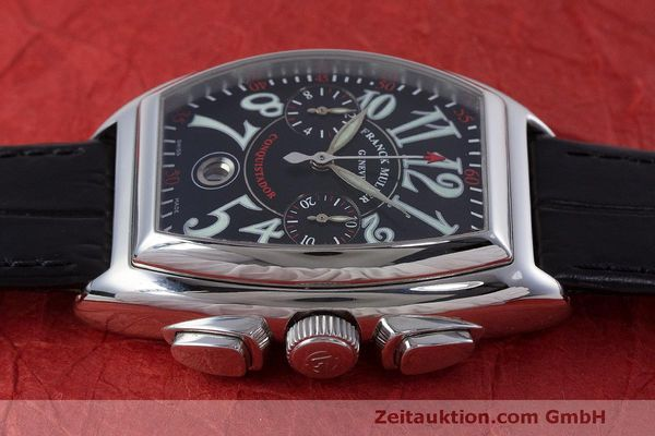 Used luxury watch Franck Muller Conquistador chronograph steel automatic Kal. 1185L02 Ref. 8001CC  | 160826 05