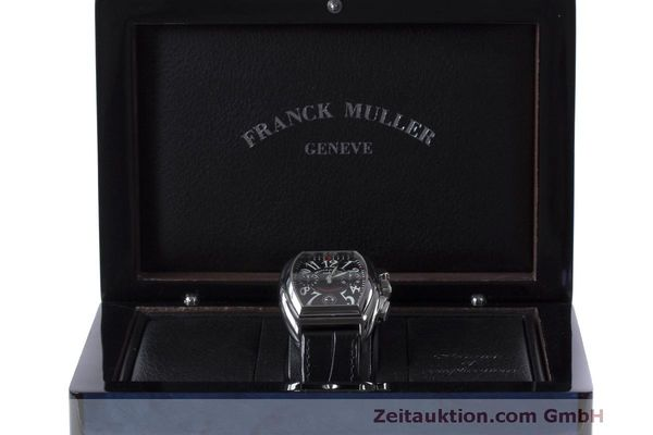 Used luxury watch Franck Muller Conquistador chronograph steel automatic Kal. 1185L02 Ref. 8001CC  | 160826 07