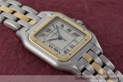 CARTIER PANTHERE STEEL / GOLD QUARTZ KAL. 87 [160828]