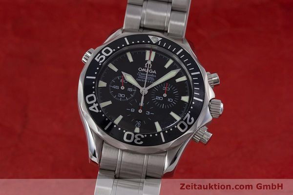 OMEGA SEAMASTER CHRONOGRAPH STEEL AUTOMATIC KAL. 3303 LP: 4800EUR [160833]