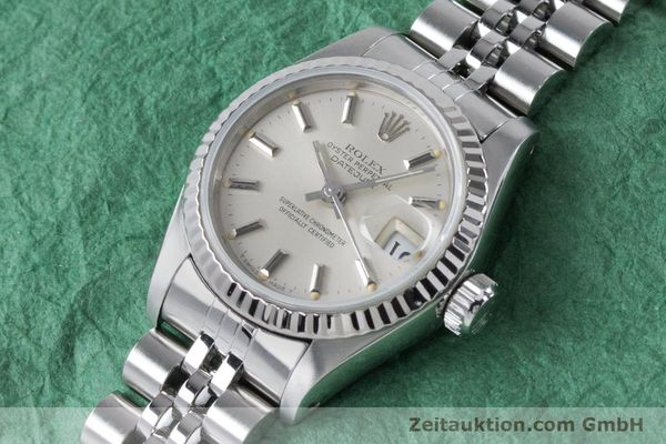 Used luxury watch Rolex Lady Datejust steel / white gold automatic Kal. 2135 Ref. 69174  | 160838 01