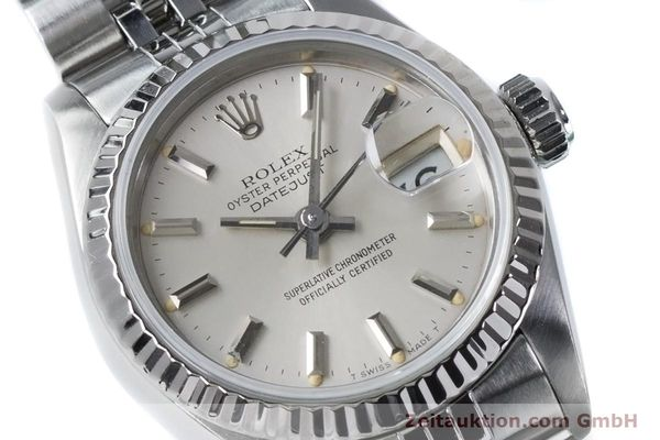 Used luxury watch Rolex Lady Datejust steel / white gold automatic Kal. 2135 Ref. 69174  | 160838 02