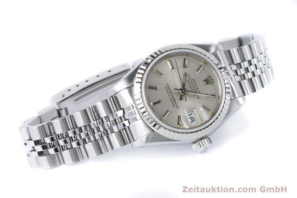 Used luxury watch Rolex Lady Datejust steel / white gold automatic Kal. 2135 Ref. 69174  | 160838 03