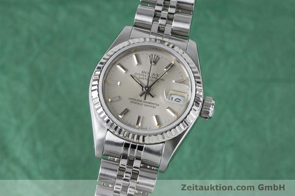 Used luxury watch Rolex Lady Datejust steel / white gold automatic Kal. 2135 Ref. 69174  | 160838 04