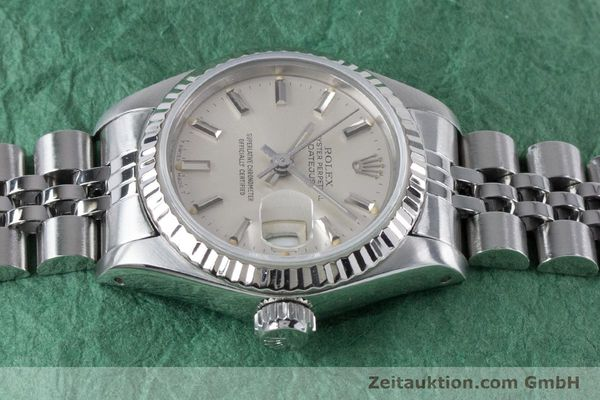 Used luxury watch Rolex Lady Datejust steel / white gold automatic Kal. 2135 Ref. 69174  | 160838 05