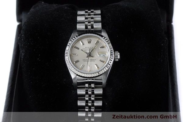 Used luxury watch Rolex Lady Datejust steel / white gold automatic Kal. 2135 Ref. 69174  | 160838 07