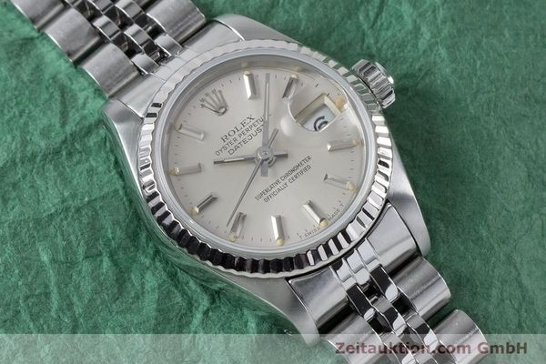 Used luxury watch Rolex Lady Datejust steel / white gold automatic Kal. 2135 Ref. 69174  | 160838 14